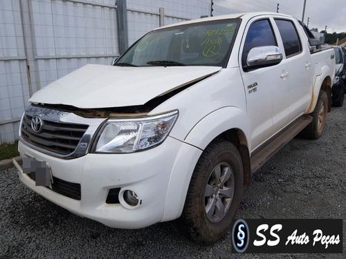 Imagem 1 de 2 de Sucata De Toyota Hilux Cd 2014 - Retirada De Peças