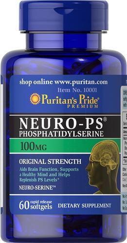 Neuro Ps Fosfatidilserina Focus Memoria Concentración 60 Sof