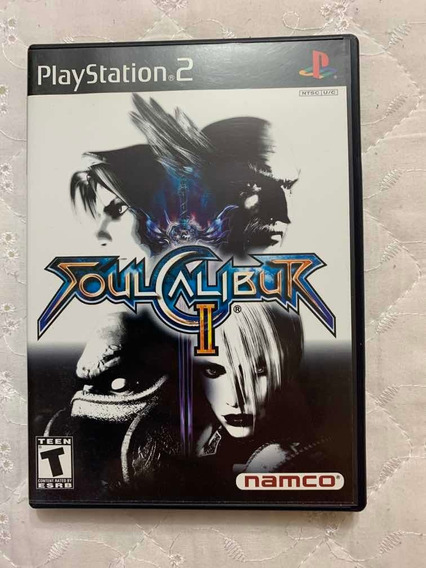 Game Ps2 - Soul Calibur Ii