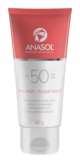 Anasol Protetor Solar Facial Fps 50 60 G