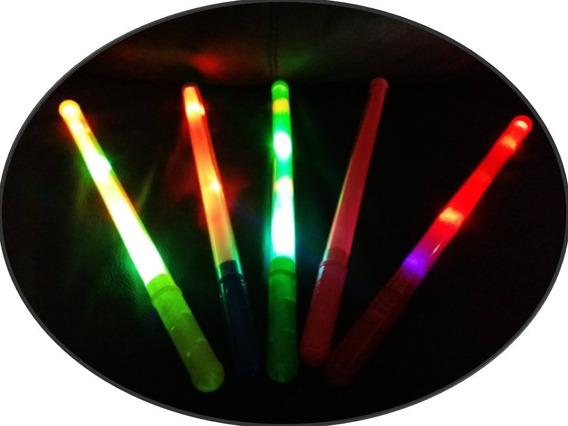 50 Barra Luminosa Luz Led Baston Espada Fiesta Batucada