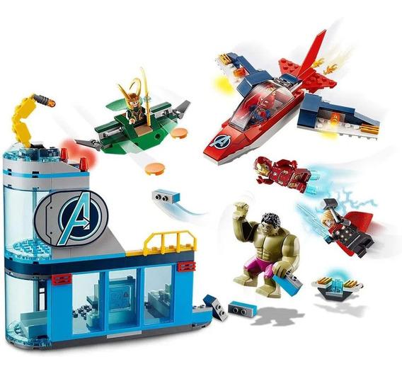 Lego Super Heroes Vingadores - A Ira De Loki