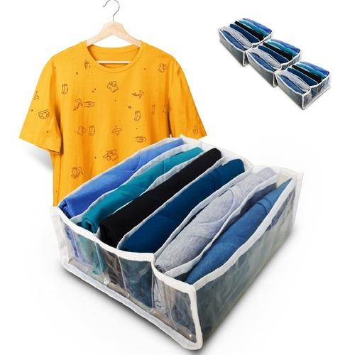 Colmeia Organizadora De Camisetas Kit 3 Unidades