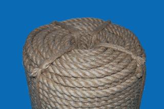 Cordel / Cuerda Cañamo Yute Natural (16mm X 100m Aprox)