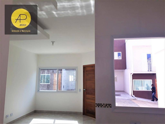 Sobrado Residencial À Venda, Vila Nova Aparecida, Mogi Das Cruzes. - So0046