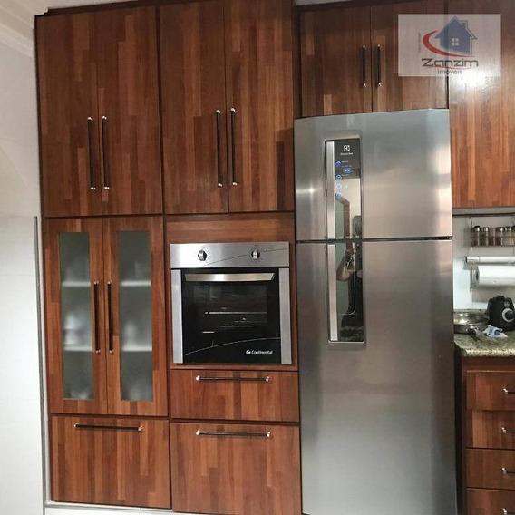 Sobrado Com 3 Dormitórios Para Alugar Por R$ 4.200/mês - Jardim Campestre - São Bernardo Do Campo/sp - So0191