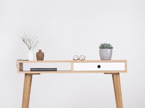 Credenza Trosta Estilo Diseño Nórdico Minimalista Encino