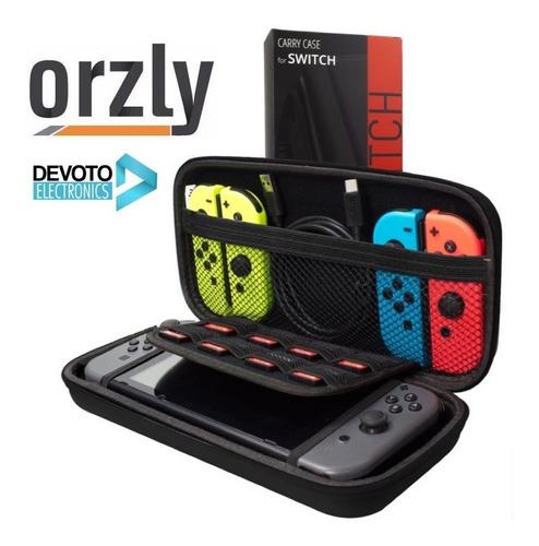 Imagen 1 de 9 de Funda Estuche Nintendo Switch Orzly Colores