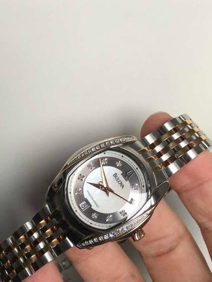 Relógio Bulova Precisionist Com Diamantes C977664
