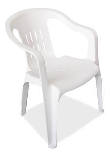 Silla Confort De Plastico Con Gomas En Las Patas
