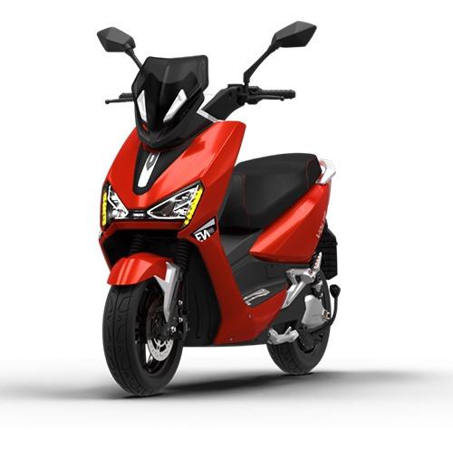 Imagem 1 de 10 de Scooter Moto Elétrica Voltz Ev1 Sport Vermelha - Uma Bateria