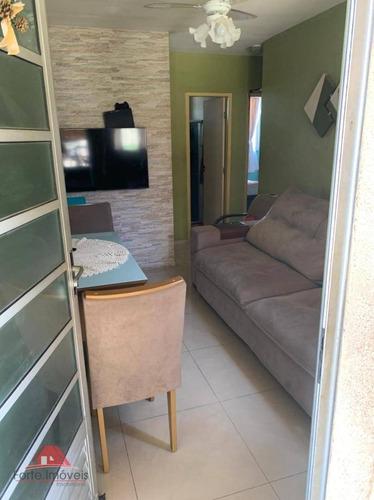 Apartamento C/ 2 Quartos No Condomínio Siena - Ap0244
