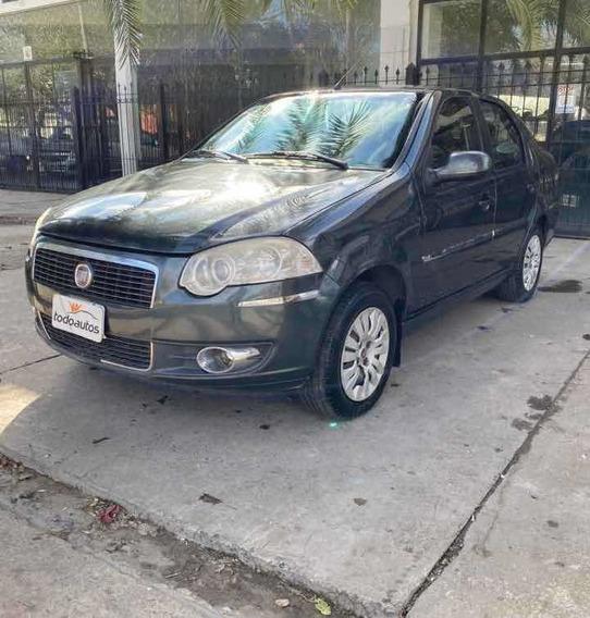Fiat Siena 1.4 El Pack Attractive Gnc 2012 Anticipo Y Cuotas