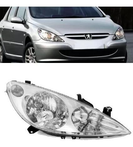 Farol Peugeot 307 2002 2003 2004 2005 2006 Lado Direito