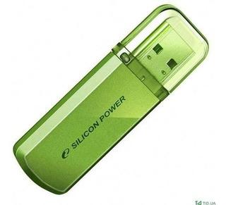 Memoria Usb Silicon Power 8gb Flash Metalica Resistente Agua