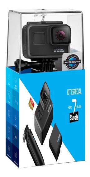 Gopro Hero 7 Black + Bateria + Cartão + Bastão + Nota Fiscal