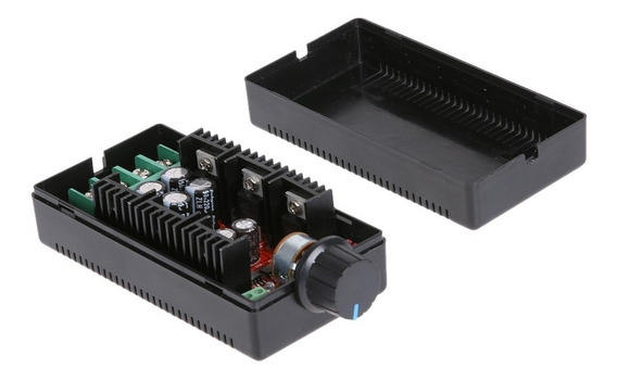 Controlador Pwm 40a 50v 2000w Regulador Velocidade Motor Hho