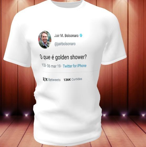 Camisa Camiseta Personalizada O Que É Golden Shower?