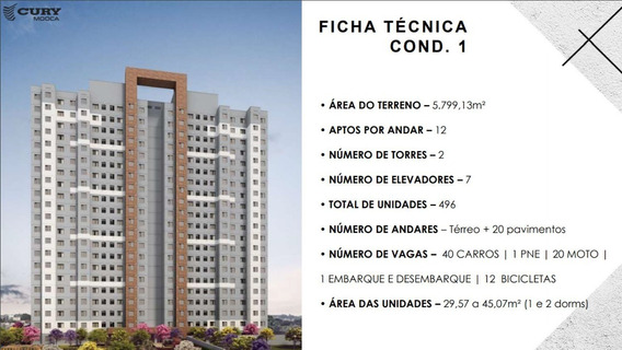 Urban Mooca Aptos 29 A 45m2 1 E 2 Dorms 1 Banheiros 1 Vaga Opcional, Lazer Completo - Ap00043 - 67810857