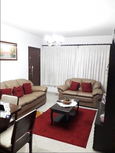 Sobrado Com 3 Dormitórios À Venda, 152 M² Por R$ 650.000,00 - Campestre - Santo André/sp - So3316