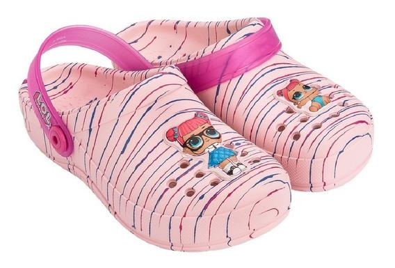Sapato Grendene Infantil Babuche Lol - 21891 Rosa