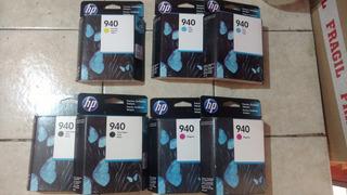 7 Cartuchos Hp 940 Originales