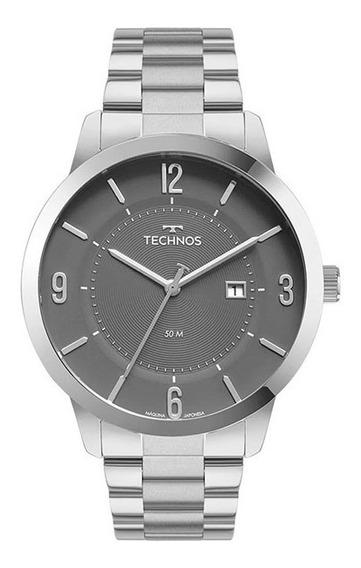 Relógio Technos Masculino Prata 2117lcp/1c