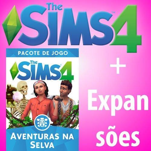 The Sims 4 + Todas Expansões + Selva : Envio Digital :