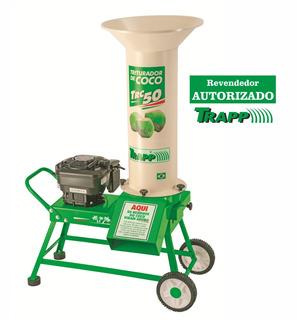 Triturador De Cocos A Gasolina 8,5hp Trapp Trc 50g
