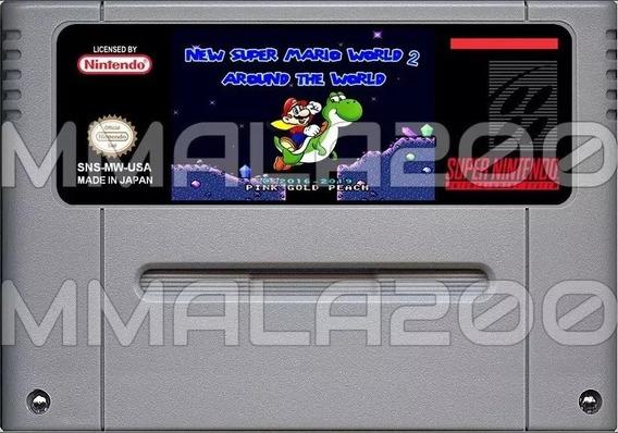New Super Mario World 2 Around The World Snes Super Nintendo