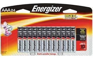Baterías Energizer Aaa Batería Triple A Máx Alcalina 24 C