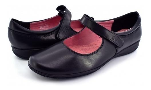 Zapatos Flexi 35802 Negro 22.0-27.0 Damas