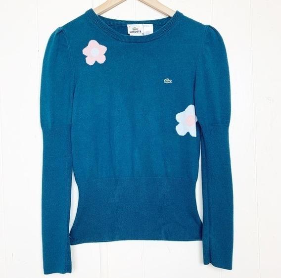 Lacoste........ Sweater Por Limpia D Closet D Dama !