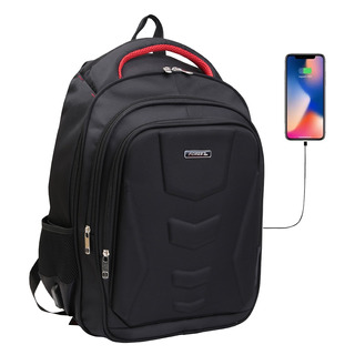 Mochila Porta Notebook 17 Smart Usb Tablet Acolchada Calidad