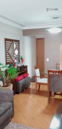 Imagem 1 de 13 de Apartamento Com 3 Dormitórios À Venda, 75 M² Por R$ 430.000,00 - Vila Gilda - Santo André/sp - Ap3025