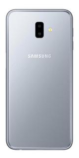 Smartphone Samsung Galaxy J6 Plus Prata 32gb Câmera Dupla 13mp+5mp 4g Sm-j610gzajzto