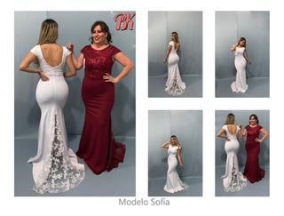 Vestido De Fiesta Modelo Sofia