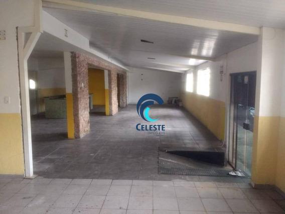 Salão Para Alugar, 180 M² Por R$ 3.200,00/mês - Monte Castelo - São José Dos Campos/sp - Sl0193