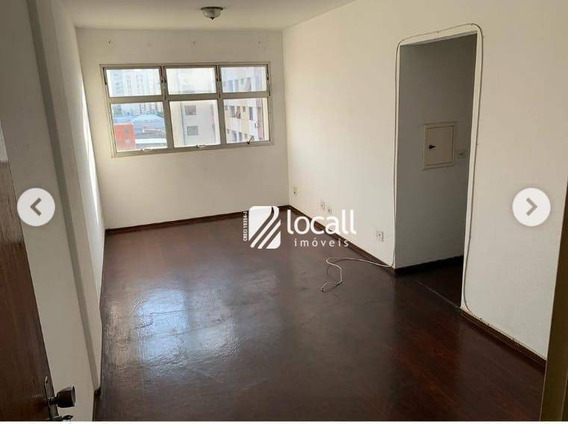 Apartamento Com 1 Dormitório Para Alugar, 48 M² Por R$ 600/mês - Centro - São José Do Rio Preto/sp - Ap1961