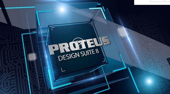 Simulador Eletrônico Proteus 7. 7 Licença Até 2099