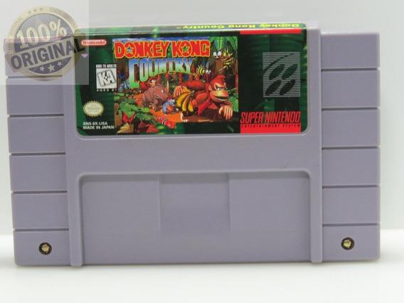 Cod 205 Donkey Kong Original Snes Super Nintendo Usado