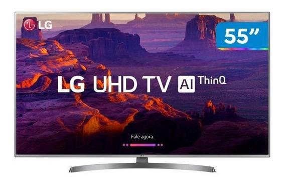 Tv Lg 55uk6540 - Nunca Usada Tela Quebrada Para Tirar Peças