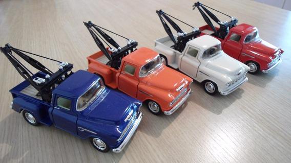 Mini Pick-up Chevrolet,guincho Ano 1955 13cm 4 Cores