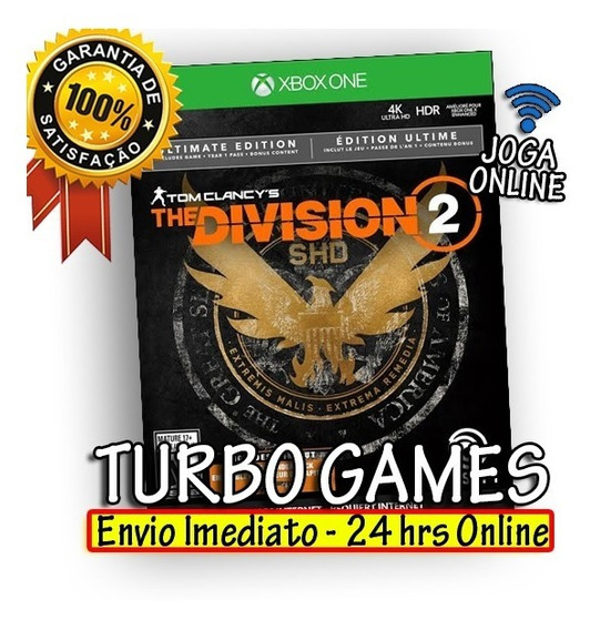 The Division 2 Ultimate Edition Xbox One + Brinde