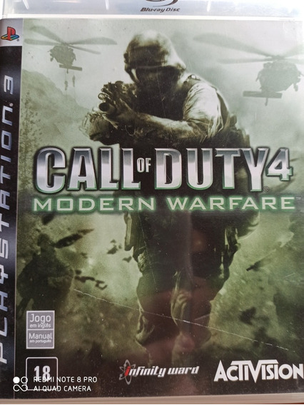 Call Of Duty 4 Modern Warfare Ps3 Original ,a Pronta Entrega