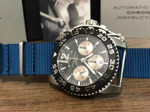 Hamilton - Khaki Chronograph Automatic - Ref. H635160