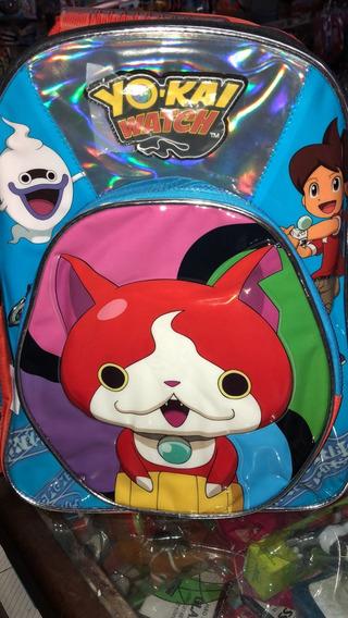 Mochila Espalda 17 Yo Kai Watch Duendes Y Princesas
