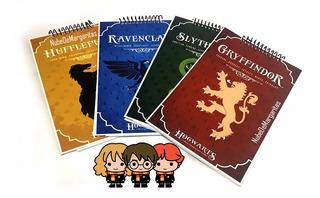 Anotadores Temática Casas Harry Potter Precio X Unidad
