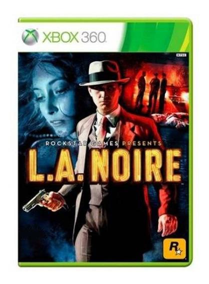 La Noire - Xbox 360 - Usado - Original