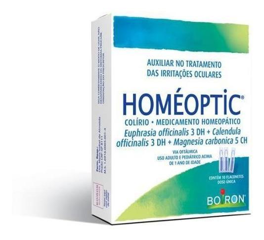 Homéoptic (auxiliar No Tratamento Das Irritações Oculares)